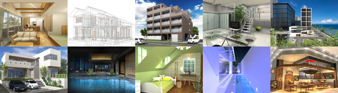 Architectural 3D Gallery