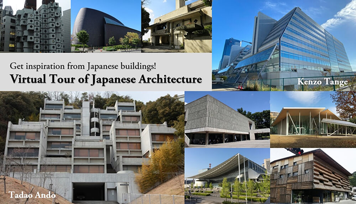 Virtual Tour of Japanese Architecture